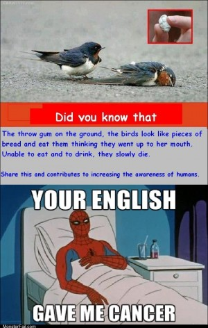 A treat for all the Grammar Nazis out there