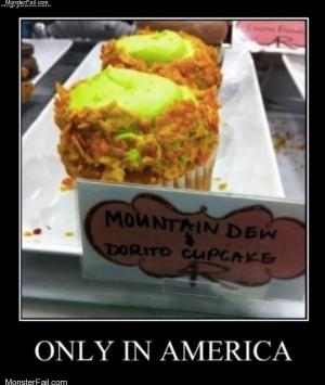 Dorito cupcakes