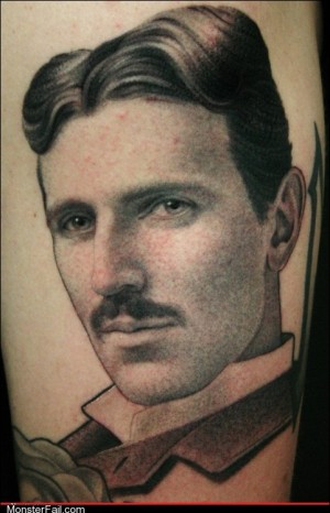 Funny tattoos Ugliest Tattoos Tesla WIN