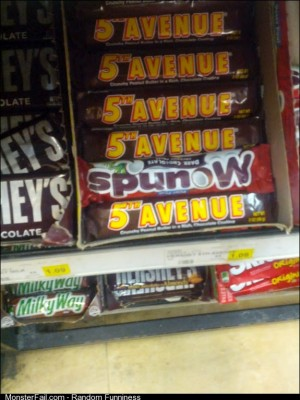 For about 2 seconds I was convinced this was a new type of candy bar at the local Asian market