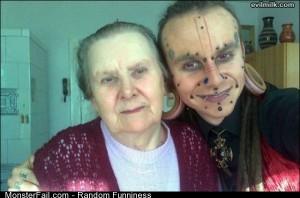 Funny Pics Grandma Is Not