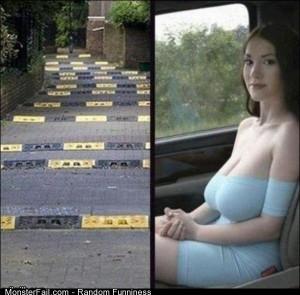 Funny Pics Bumpy Road