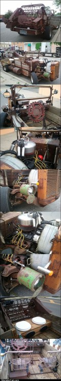 White trash repairs TIFI WIN Minnesota Man Builds His Own Roadster
