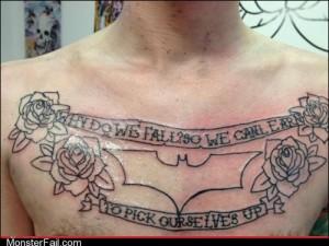 Funny tattoos Ugliest Tattoos