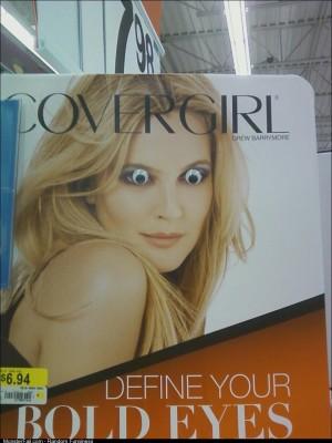 Makeup aisle