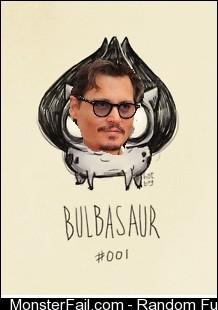 If pokemon were drawn by Tim Burton