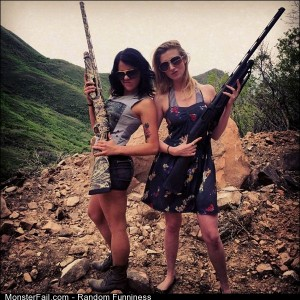 Funny Pics Girls With Guns 6