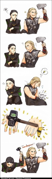 Loki has no idea the power he has been given