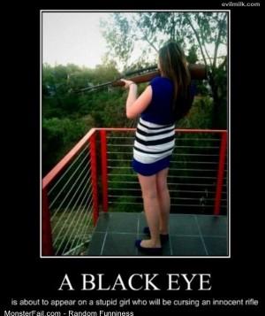 Funny Pics A Black Eye