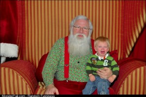 My son said he didnt believe in Santa
