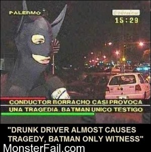 The Only Witness Batman
