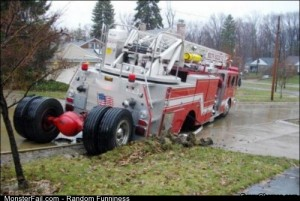 Fail firetruck Parking