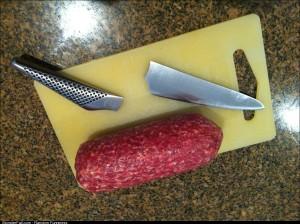 Salami 1 Knife 0