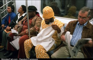 He choose the knitting game the knitting game chose him