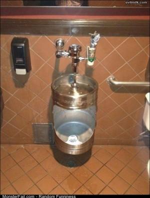Funny Pics New Urinal