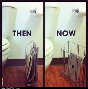The evolution of the bathroom