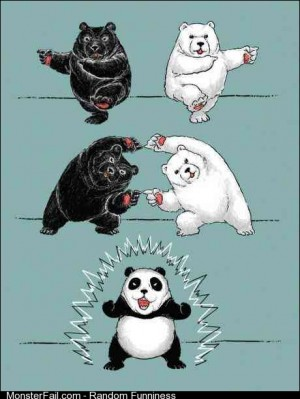 How to make a panda