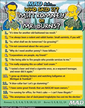 Who Said It Mitt Romney or Mr