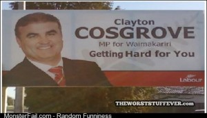 Most awkward campaign slogan ever
