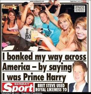 Prince Harry double LAD