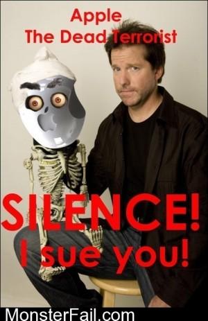 Silence I Sue You