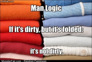 Funny Pics Man Logic