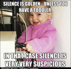 Silence is golden unless