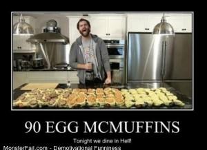 90 Egg Mcmuffins
