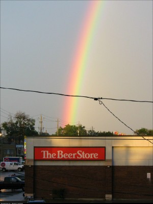 We all know where the rainbow REALLY ends