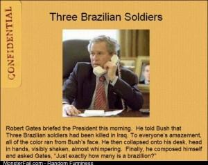 3 Brazilian Soldiers