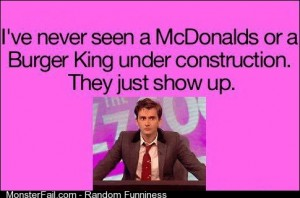 David Tennant on and Burger King
