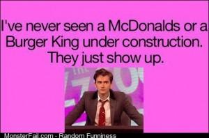 David Tennant on and Burger King