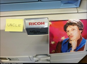 I improved the printer in my office yesterday