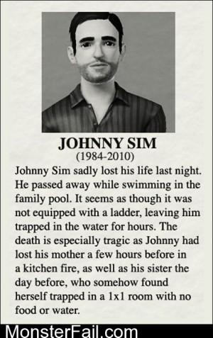 RIP Johnny Sim