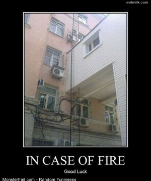 Funny Pics In Case Of Fire