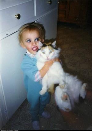 My childhood pet was a brave brave soul