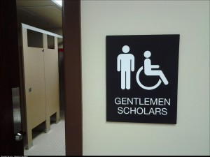 I use the MENS room