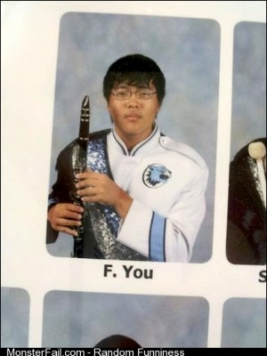 Best name in a yearbook ever