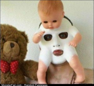 Funny Pics Baby Mask
