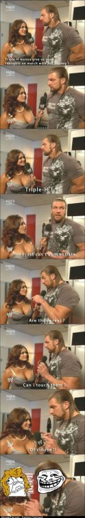 Funny Pics Triple H Troll