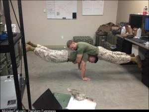 Planking Marine style