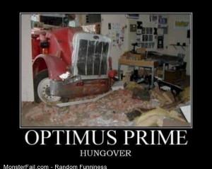 Funny Pics Optimus Prime