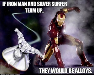 If Iron Man and Silver Surfer team up