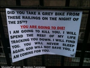 Funny Pics Who Took A Bike