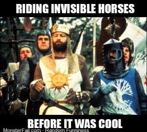 PSY has nothing on Monty Python