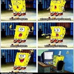 Spongebob is one of us
