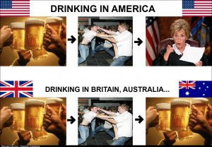How America differs from the rest of the when it comes to drinking