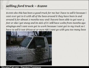 Beeutiful truck for sale only 1200