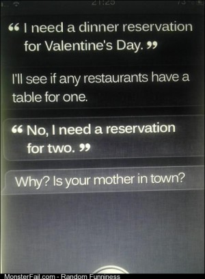 Getting real tired of your shit Siri
