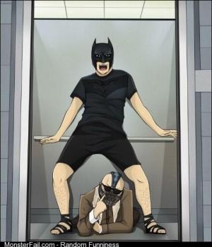 Oppa Batman Style